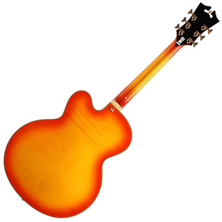 D'Angelico EX59 Hollow Body Electric Guitar, Sunburst