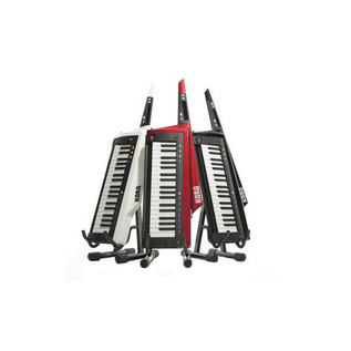 Korg RK-100S Keytar 37 Note Performance Keyboard, Red