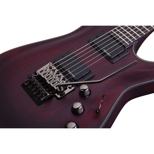 Schecter Blackjack ATX C-1 Floyd Rose, Vampyre Red Satin