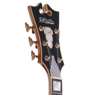 D'Angelico EX175 Jazz Hollow Body Electric Guitar, Natural