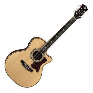 Luna Americana Folk cutaway Electro Acoustic Guitar, Natural