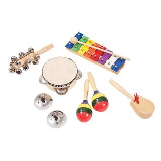 Performance Percussion Music Box Inc Tambourine, Maracas, Shakers.