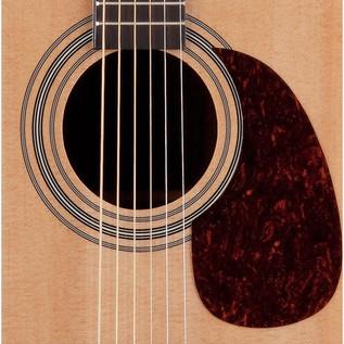 Luna Americana Classic Cutaway Electro Acoustic Guitar, Natural