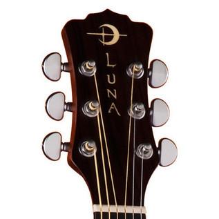 Luna Americana Cutaway Electro Acoustic Guitar, Eagle Laseretch