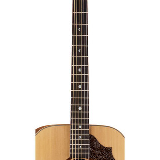 Luna Americana Electro Acoustic Guitar, Leather Pick Guard