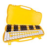 Performance Percussion G5-A7 27 Nota Glockenspiel, llaves negro/blanco