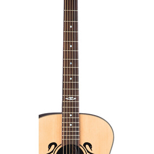 Luna Celtic Swan Grand Concert Electro Acoustic Guitar, Natural