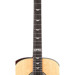 Luna Art Deco Inspired Electro Acoustic Guitar, Natural
