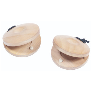 Performance Percussion Wooden Finger Castanets, Pack of 2