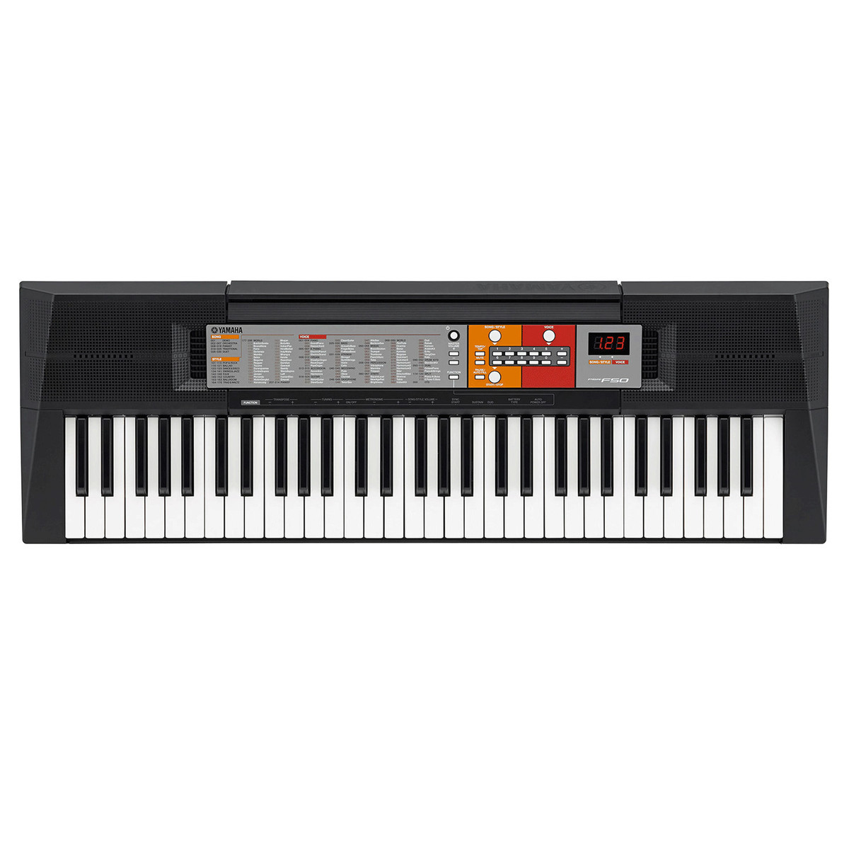 Yamaha psr f50 portable keyboard nearly new at for Www yamaha keyboards