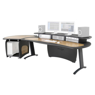 AKA Design ProEdit Studio Desk + 12U Rack, Jointer Kit & LH Worktop