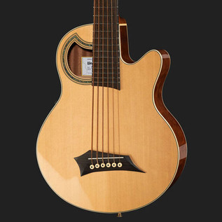 Warwick Alien Standard 6-String Acoustic Bass, Natural 3