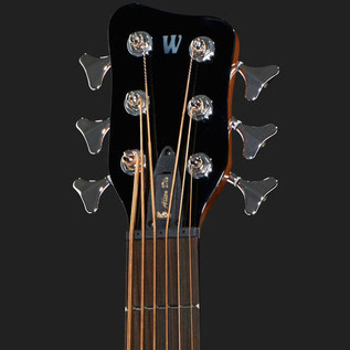 Warwick Alien Standard 6-String Acoustic Bass, Natural 4