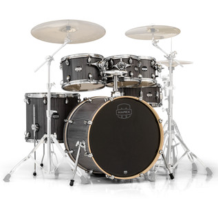 Mapex Mars 22'' Special Edition Rock 6 Piece Shell Pack, Smokewood