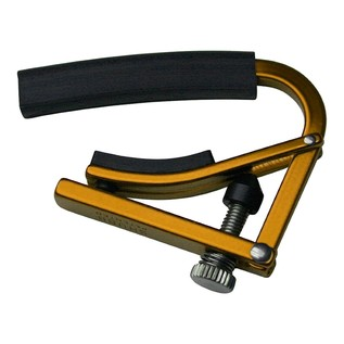 Shubb L4 Radically Curved Capo, Gold
