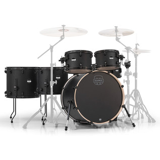 Mapex Mars 22'' Special Edition Fusion 6 Piece Shell Pack, Nightwood