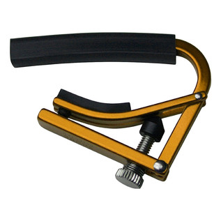 Shubb L3 12-String Guitar Capo, Gold