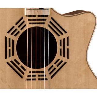 Luna Oracle Zen Grand Concert Electro Acoustic Guitar