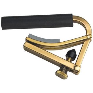 Shubb C2B Nylon String Guitar Capo, Brass