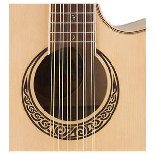 Luna Muse 12 String Grand Auditorium Electro Acoustic Guitar