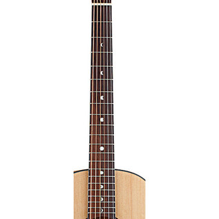Luna Gypsy Muse Parlor Acoustic Guitar with Built In Tuner