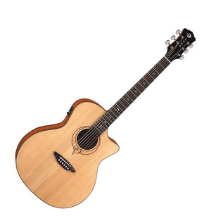 Luna Heartsong Grand Concert Electro Acoustic Guitar with USB