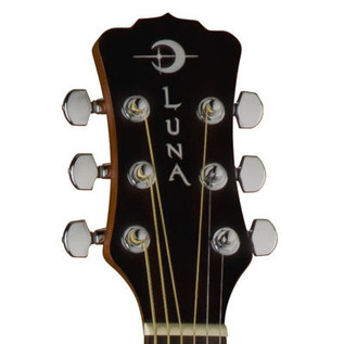 Luna Safari Henna Travel Guitar + Gigbag