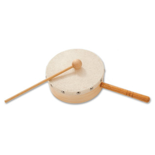 Percussion Plus PP7604 Tom Boy 6'' Hand Held Drum