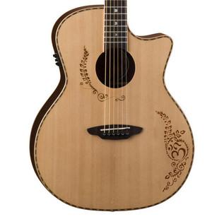 Luna Vicki Genfan Signature Electro Acoustic Guitar