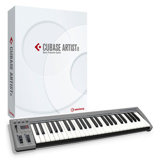 Steinberg Cubase Artist 8 + Acorn MasterKey 49 USB MIDI Keyboard
