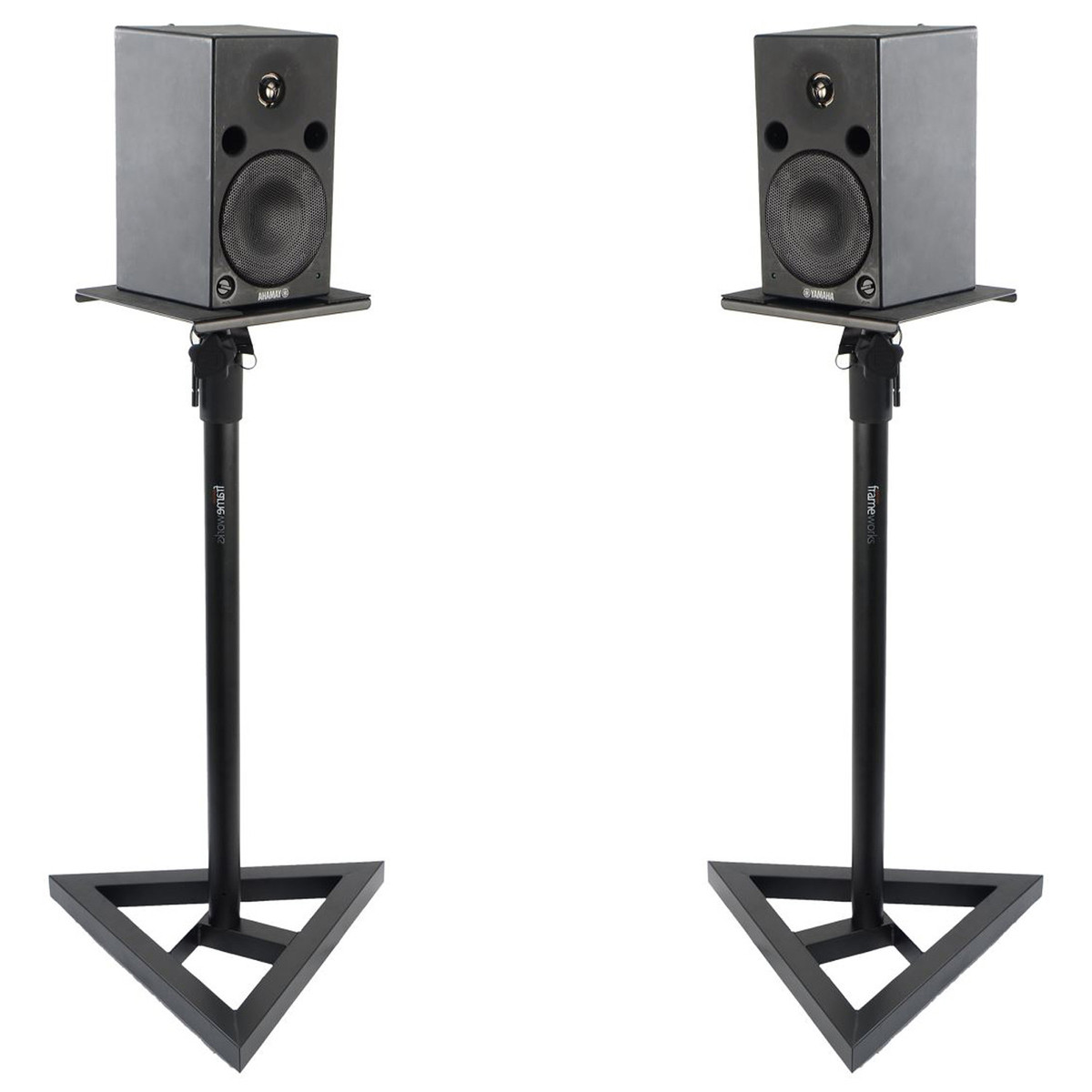 frameworks gfw sm50 studio monitor stand pair at. Black Bedroom Furniture Sets. Home Design Ideas