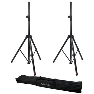Frameworks SPK-2000SET PA Speaker Stands (pair) with Carry Bag