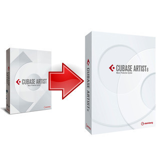 Steinberg Cubase Artist 7.5 with FREE Upgrade to 8 On Registration