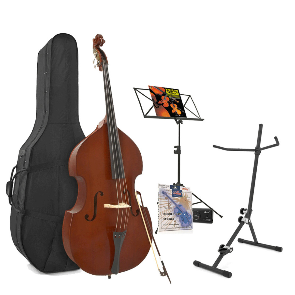 Image of Student 3/4 Double Bass + Accessory Pack by Gear4music