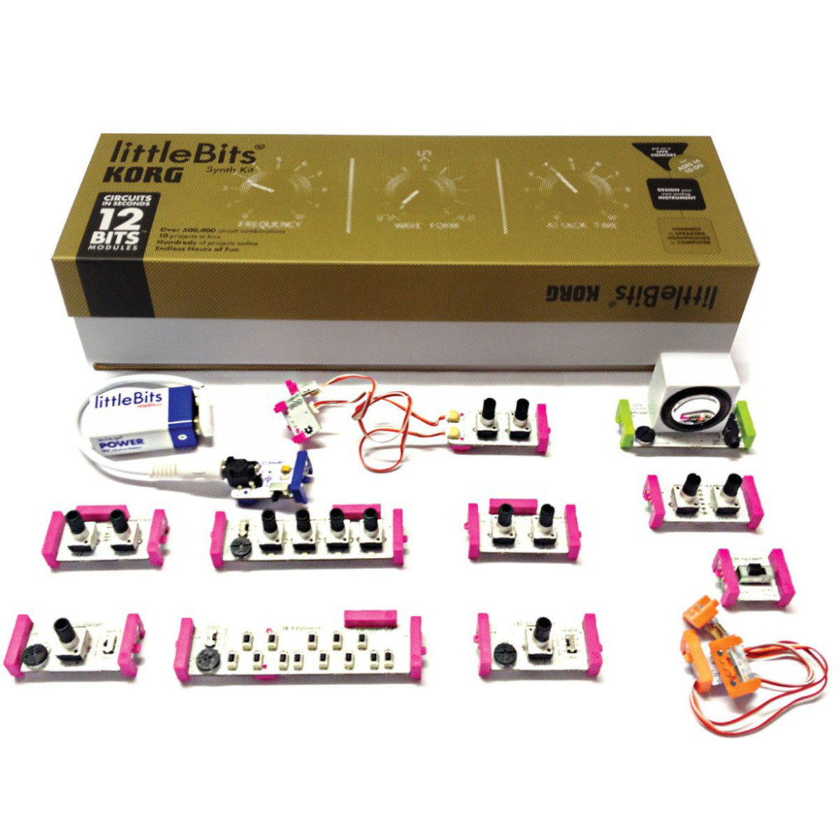 Image of Korg LittleBits Analog Synth Kit