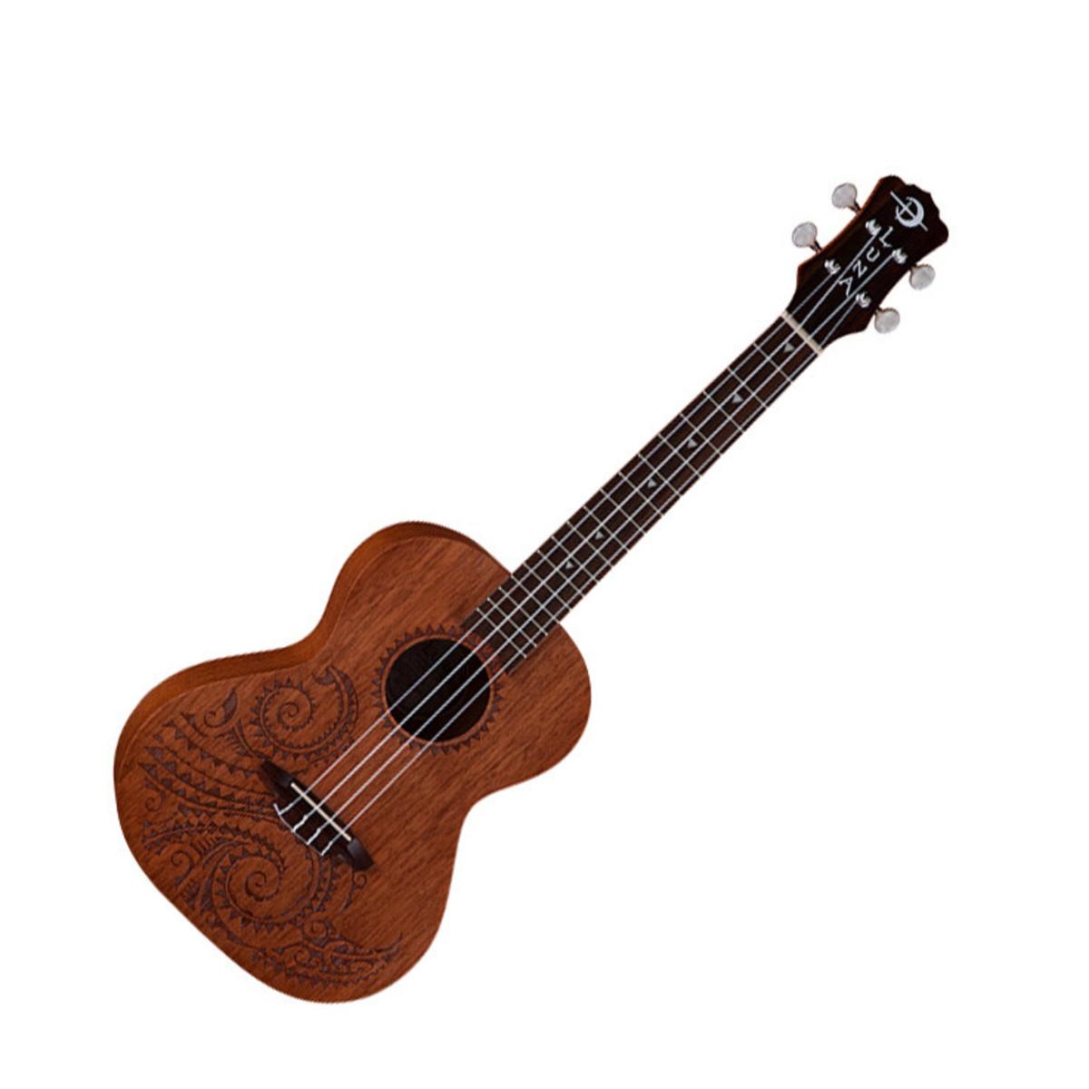 luna tattoo tenor ukulele mahogany at