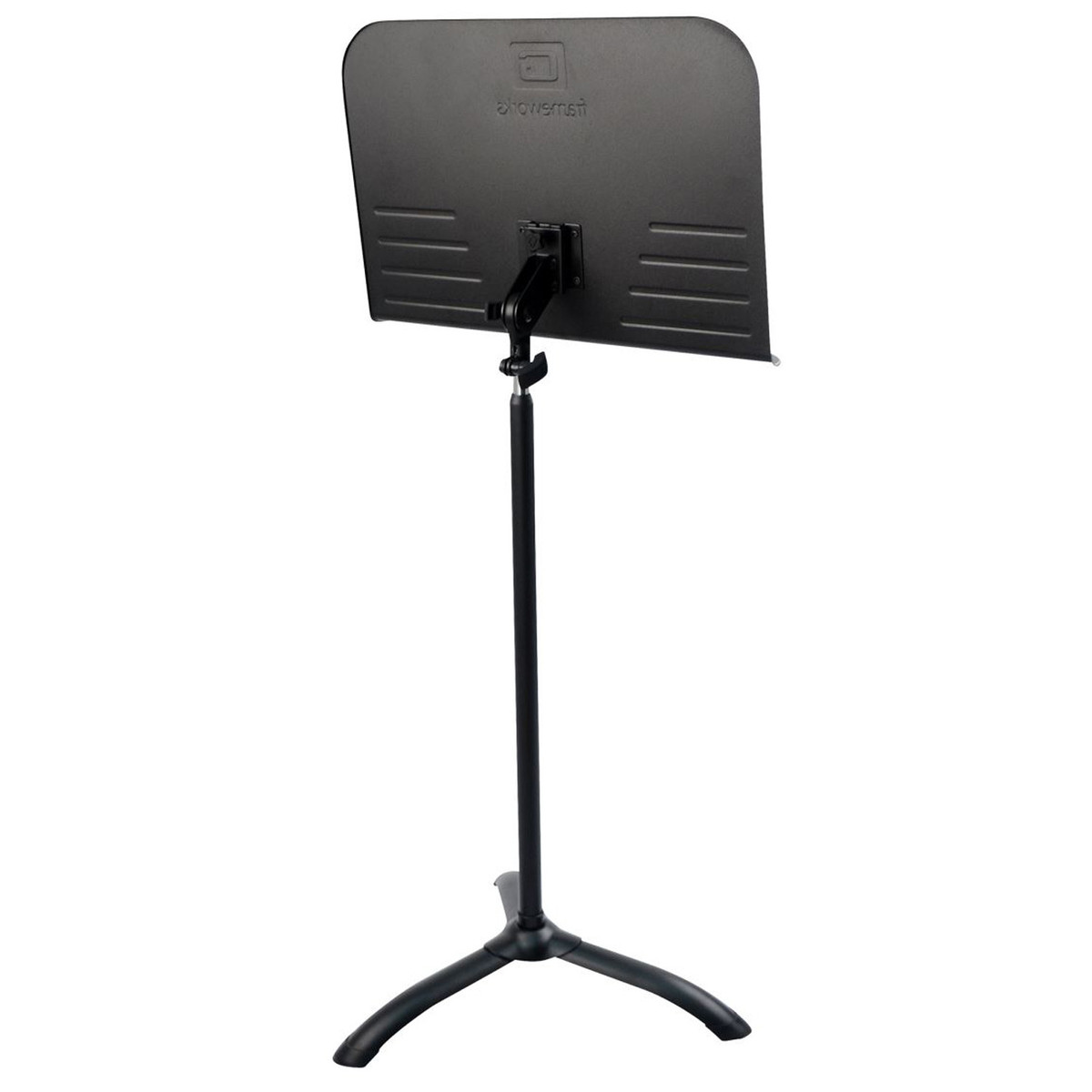 frameworks gfw 1000 standard sheet music stand at. Black Bedroom Furniture Sets. Home Design Ideas