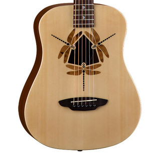 Luna Safari Dragonfly Travel Guitar