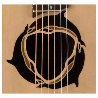 Luna Safari Dolphin Travel Guitar