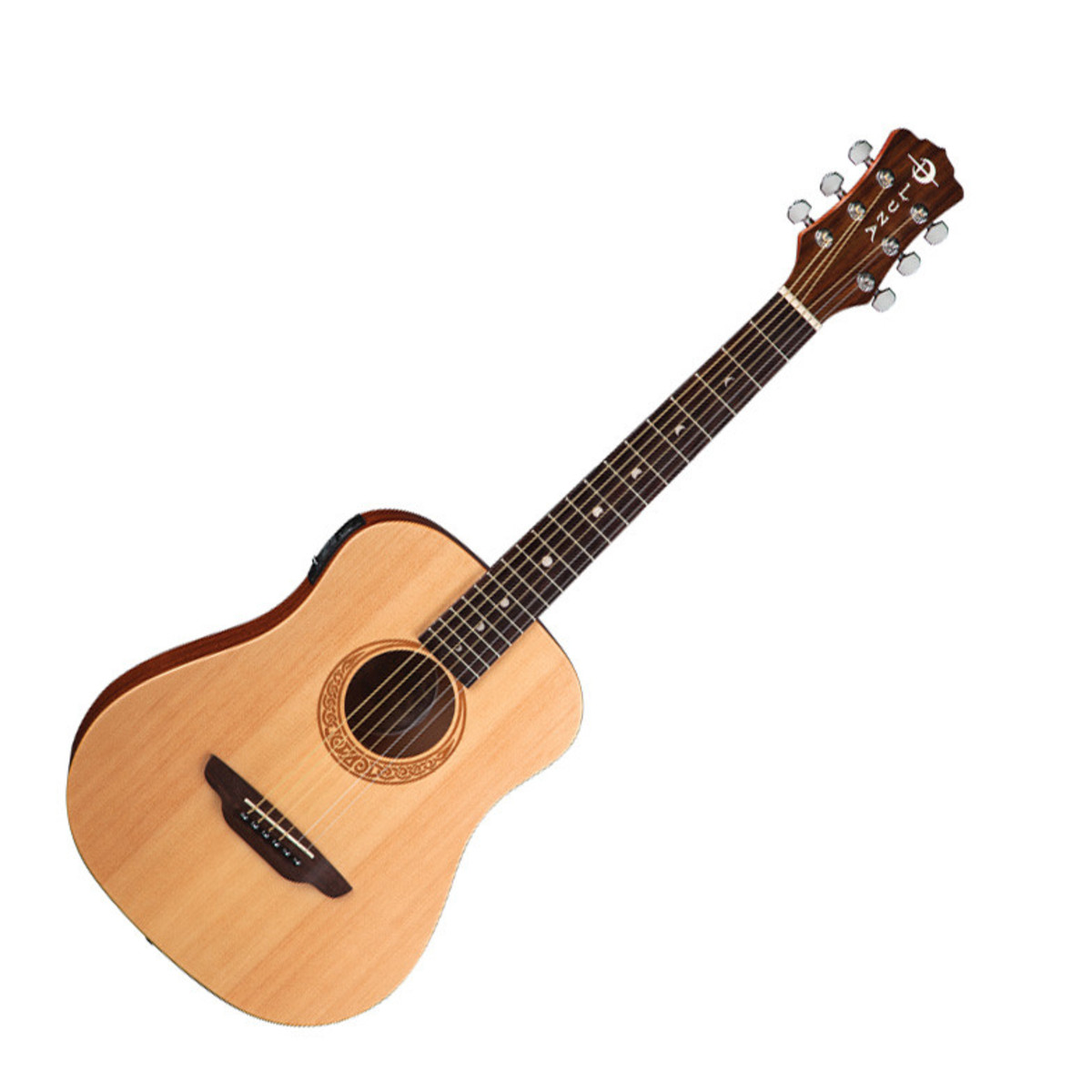 disc luna safari muse electro acoustic travel guitar at. Black Bedroom Furniture Sets. Home Design Ideas