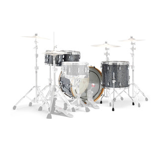 Gretsch Drums Renown Maple 20'' 4 Pc Groove Shell Pack, Blue Metal