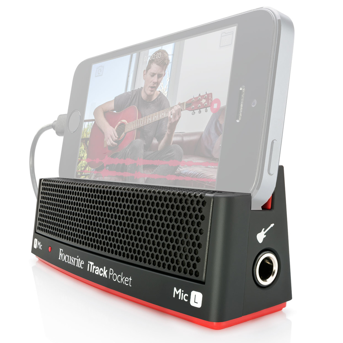 Image of Focusrite iTrack Pocket Audio and Video Recorder for iPhone