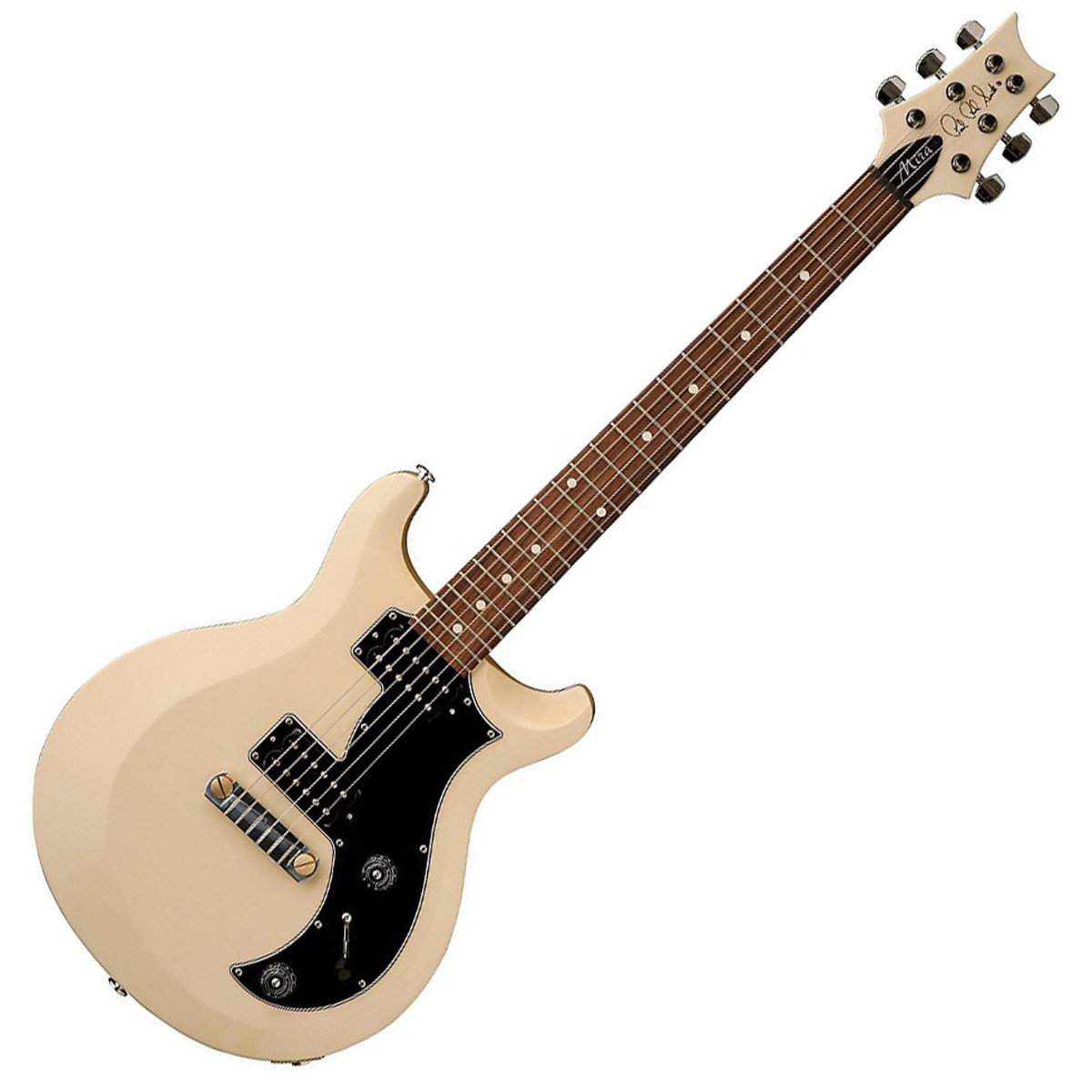 prs s2 mira electric guitar antique white with dot inlays at. Black Bedroom Furniture Sets. Home Design Ideas