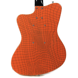 Danelectro 67 Heaven Guitar, Alligator Orange 3