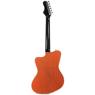 Danelectro 67 Heaven Guitar, Alligator Orange 4