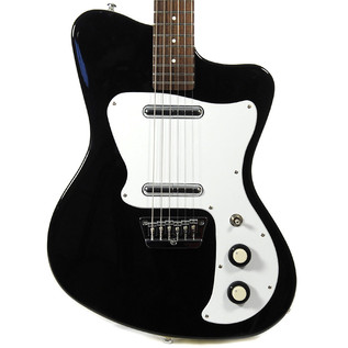 Danelectro 67 Heaven Guitar, Black 2