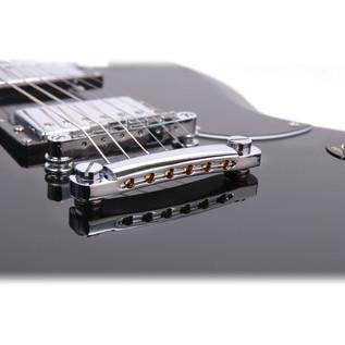 Encore E69 Electric Guitar, Black 2