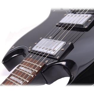 Encore E69 Electric Guitar, Black 3