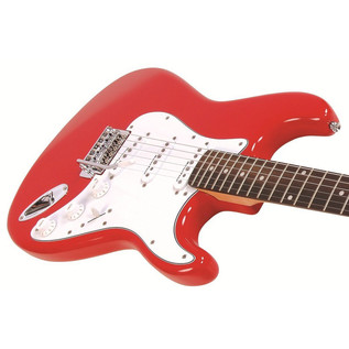 Encore E6 Electric Guitar, Red 3