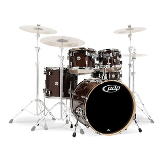 PDP Drums Concept Maple 22'' CM5 Shell Pack, Transparent Walnut